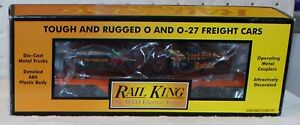"""MTH Hot Eddy's Salsa Smoking Tank Car Converted To American Flyer """"S"""" Gauge !"""