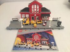 Lego Set Train Station 2150 roter Bahnhof, Zug Gleise