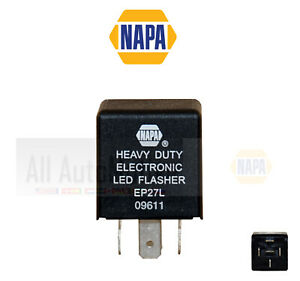 Turn Signal Flasher NAPA EP27L for Vehicles (listed below) with LED Retro Fit