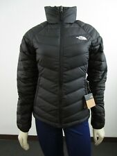 Womens The North Face TNF Flare Full Zip 550-Down Winter Packable Jacket - Black