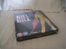 KILL BILL 1 + 2 STEELBOOK blu-ray UK RELEASE NEW SEALED RARE