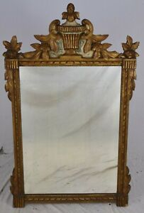 Friedman Brothers Neoclassical Style Gold Gilt Mirror