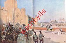 L'illustration n°4456 - 28/07/1928 Carcassonne tournoi armurerie Pauilhac Dinard