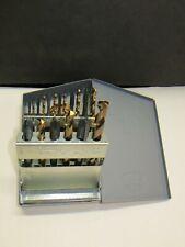 Huot 12600 N.C. tap & Drill Index W/ New Kennametal Taps & Hss Drill Made in USA