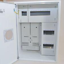 Zählerschrank Sicherungskasten Verteilerkasten f, 1x Zähler 1-Ph + 24 Sich.