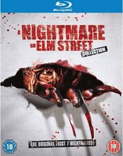 A Nightmare On Elm Street: 1 2 3 4 5 6 7 Complete Box Set Collection | Blu-ray
