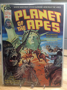 PLANET OF THE APES #7 - VF - CURTIS FANTASY MAGAZINE