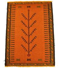 nouveau Kelim Qouchan 110 x 82 cm tapis kilim laine Nomad carpette tribale