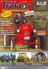 Oldtimer Traktor 3-4/09 Porsche Diesel Junior/Lanz Bulldog D 8516/Unimog die70er