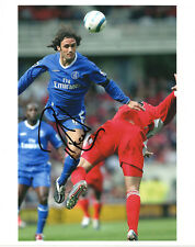 RICARDO CARVALHO - Signed 10x8 Photograph - FOOTBALL - CHELSEA