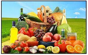 Fruit Et Légumes - Amusant Souvenir Nouveauté Aimant de Réfrigérateur - Tout