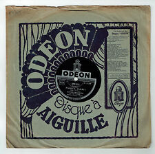 78T GUITARE HAWAIENNE Aldo SANDERS Disque Phonographe MARIA MARI - ODEON 275011