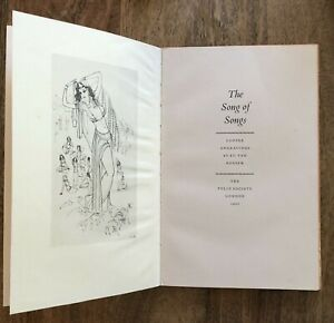 The Song of Songs The Folio Society 1967 Illustrated by Ru van Rossem Hardcover