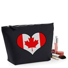 Canada Flag Canadian Gift Women's Make Up Accessory Bag