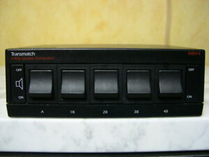 QED MB 44  *** Speaker Switching Unit 5-Way ***