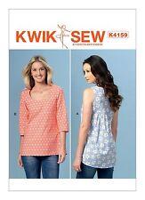 Kwik Sew SEWING PATTERN K4159 Misses Top XS-XL