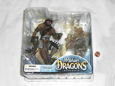 NEW McFarlane's Dragons THE KOMODO DRAGON CLAN Series 3 Action Figure Set
