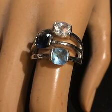 Lia Sophia BLUE BAYOU Riviera Fashion Ring Size 8