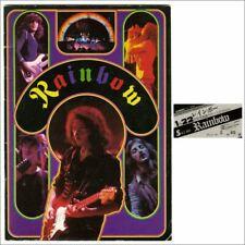 Rainbow 1978 Nippon Budokan Concert Programme & Ticket Stub (Japan)