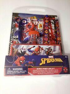 Spiderman 10 Piece Stationary Set School Set Pencil Set (706581SPC)