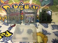 Pokemon: Crystal Version Nintendo Game Boy Color (GBC) WORKS 100% AUTHENTIC Rare