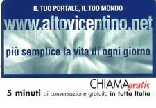 CHIAMAGRATIS -  WWW.ALTOVICENTINO.NET - VALIDITA' DAL 01/02/2003 AL 29/02/2004