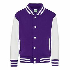 Personalised Childrens Varsity Jacket Kid College Lestterman Custom Printed