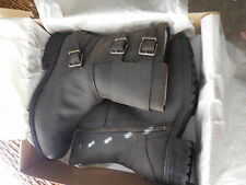 UGG Wilcox stout Leather Buckle Boots Womens 9.5  NIB NEW $250