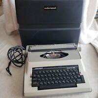 Vintage Underwood 565 Electric Typewriter with Case (Keys stick, needs ribbon)