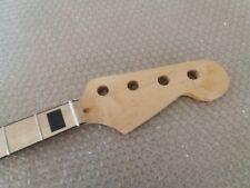 Maple 20 Fret Neck For Electric JAZZ Bass Guitar Neck Parts Replacment