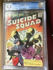 Brave And Bold 25, CGC 4.5, 1st Appearance of SUICIDE SQUAD, Rick Flag
