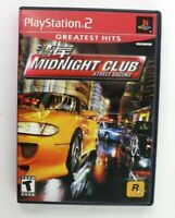 PS2 Midnight Club: Street Racing (Sony PlayStation 2, 2000) Complete Tested