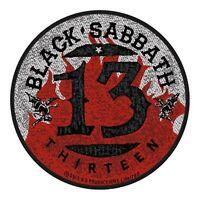 Black Sabbath patche officiel écusson licence patch à coudre groupe rock
