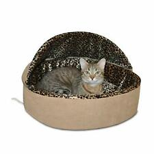 """K&H Pet Products Thermo-Kitty Heated Pet Bed Deluxe Cat Bed - Large 20"""""""