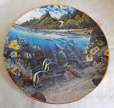 La'Sie'S Sacred Princess Plate Underwater Paradise By Robert Nelson Coa