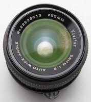 Vivitar Auto wide Angle 28mm 28 mm 1:2 2 - Nikon