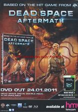 "Dead Space Aftermath ""Out Now"" 2009 Magazine Advert #4606"