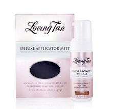DARK Loving Tan Deluxe Bronzing Mousse Self Tanner & Applicator Mitt 120ml