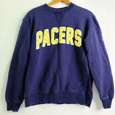 New Era indiana pacers crew neck Sweatshirt blue medium