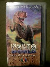 The Learning Channel ~ Paleo World: Rise of the Predators & Sea Monsters (2 VHS)