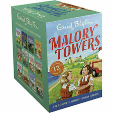 Malory Towers 12 Books Complete Collection Library Enid Blyton