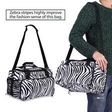 Multifunctional Zebra Single-shoulder-bag for Hairdressing and Makeup Tools SG