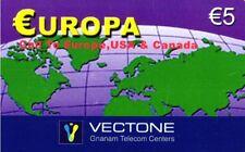 1086 SCHEDA TELEFONICA INTERNAZIONALE USATA EUROPA VECTONE 02/2005 5