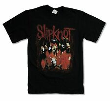 "SLIPKNOT ""DEBUT"" BLACK T-SHIRT NEW OFFICIAL BAND MUSIC ADULT SMALL S"