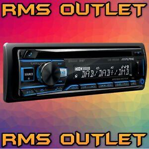 Alpine DAB Bluetooth MP3 CD Car Headunit CDE-205DAB
