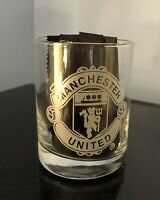 MANCHESTER UNITED Collectible Whiskey Glass 14 Oz