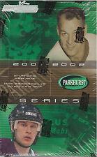 2001-02 Be A Player Parkhurst Hockey Hobby Box