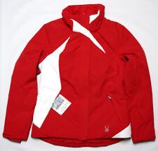 Spyder Womens 8 Ladies Winter Ski Jacket Coat F15 Red - Missing Hood