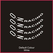 """OZ RACING Decalcomanie RUOTA 17"""" X8, vinile, Adesivo, grafica, AUTO, ruote, N2082"""