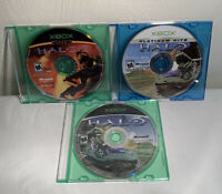 Halo Bundle - Combat Evolved, 2, Combat Evolved Platinum Hits (DISCS ONLY) Xbox